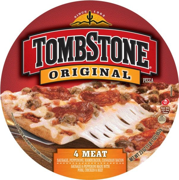 Tombstone was a close second, but it's a vastly different pizza-eating experience. The super thin crust meant it was crispy, and less filling if you're looking for a whole meal. But the taste and.